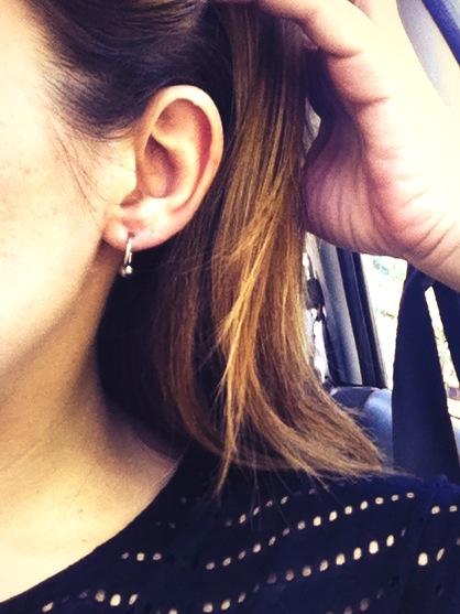 re-pierced ears